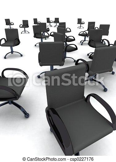 sedie ufficio - csp0227176