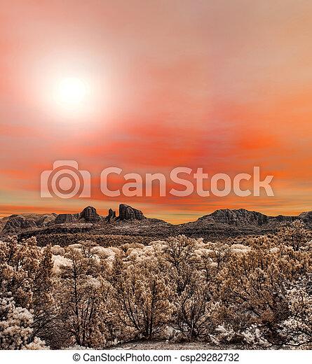 Sedona Arizona Sunrise - csp29282732