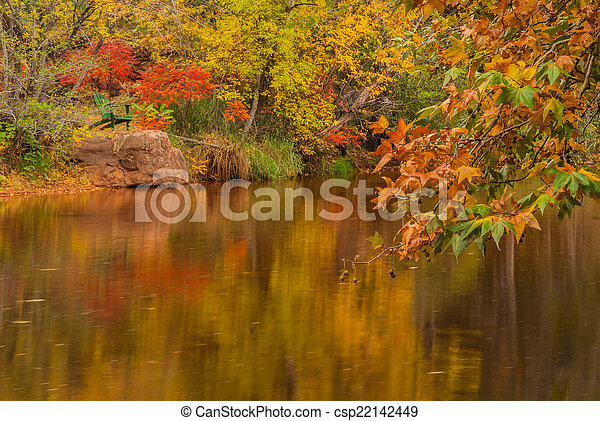 What is so special about Fall in Sedona at the Cottages At ...  |Sedona Fall Scene