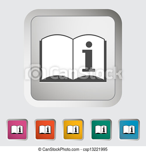 See owners manual single icon vector illustration eps vectors see owners manual csp13221995 publicscrutiny Images
