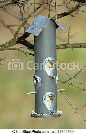seed feeder for wild birds - csp17325639