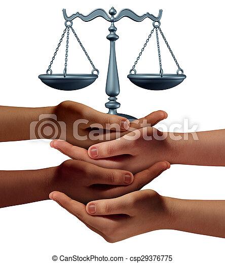 segítség, közösség, jogi - csp29376775