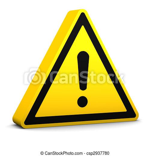 segno, generale, pericolo - csp2937780