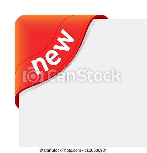 segno, nuovo - csp6500931