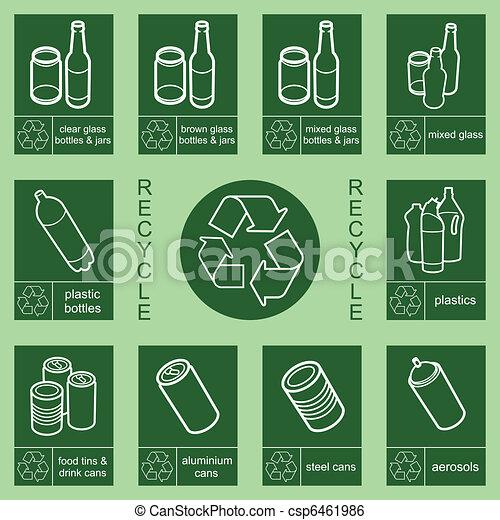 segno, riciclaggio - csp6461986