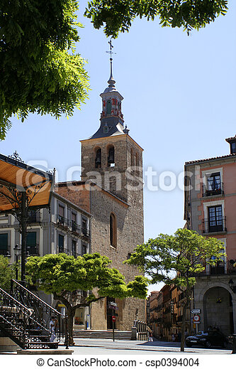 Segovia church - csp0394004