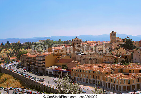 Segovia skyline - csp0394007