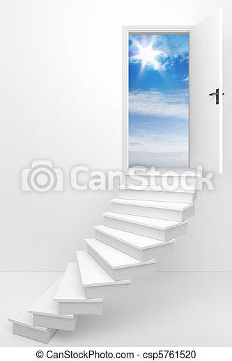 seguire, tuo, fare un sogno - csp5761520