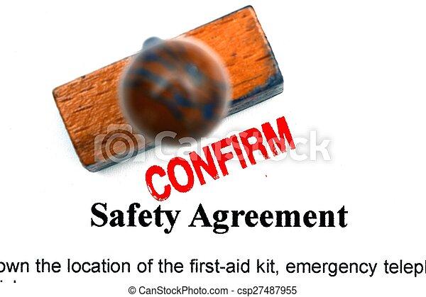 seguridad, acuerdo - csp27487955