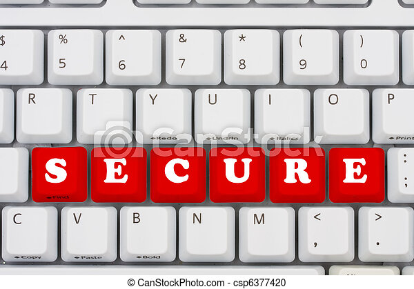 Seguridad del ordenador - csp6377420