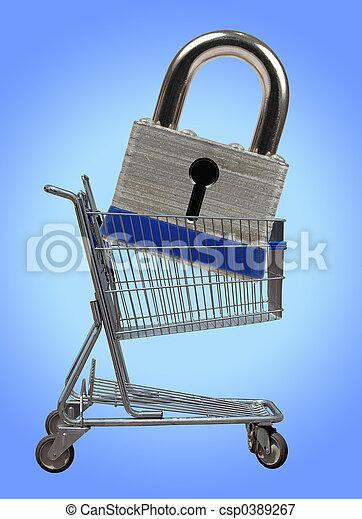 Seguridad en los negocios - csp0389267