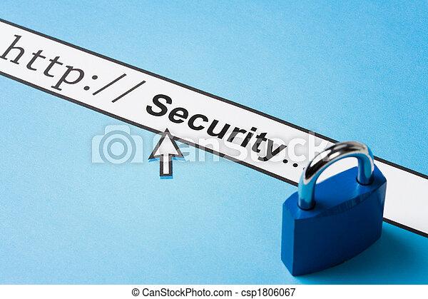 seguridad, en línea - csp1806067