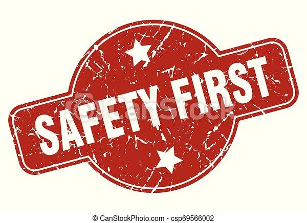 La seguridad primero - csp69566002