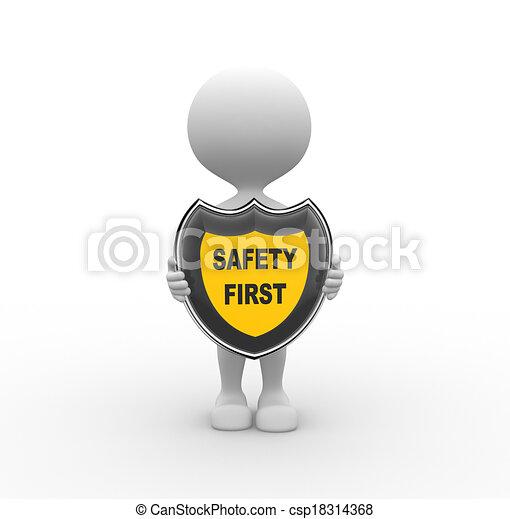 seguridad primero - csp18314368