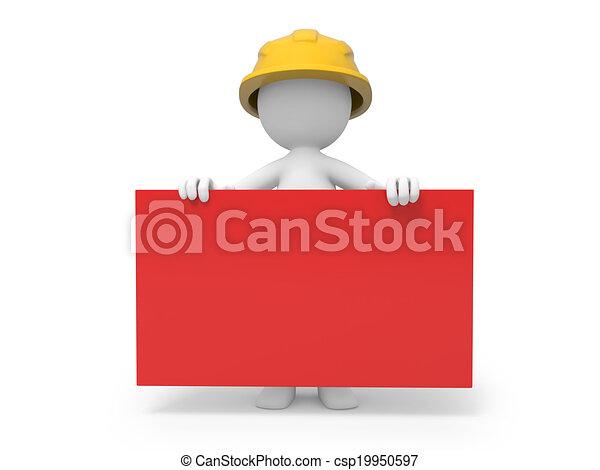 Trabajador de seguridad - csp19950597