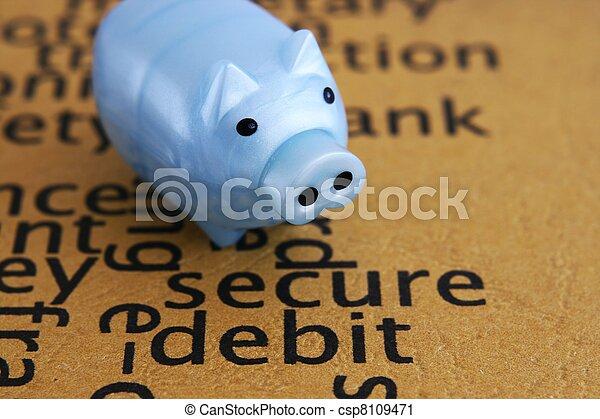 Debito seguro - csp8109471