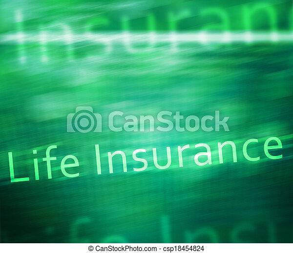 Seguro de vida - csp18454824