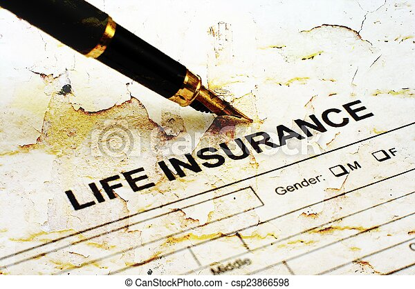 Seguro de vida - csp23866598