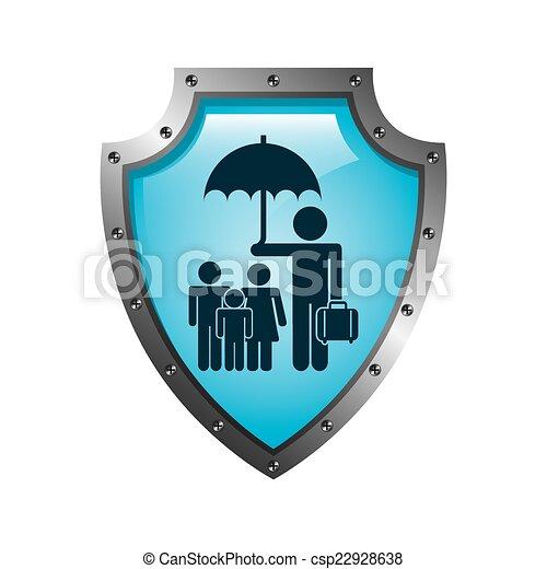 Diseño de seguros - csp22928638