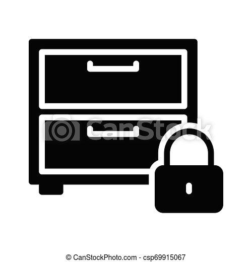 Armario seguro - csp69915067