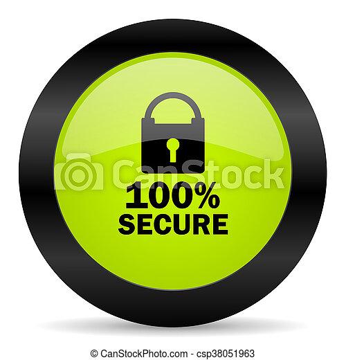 icono seguro - csp38051963