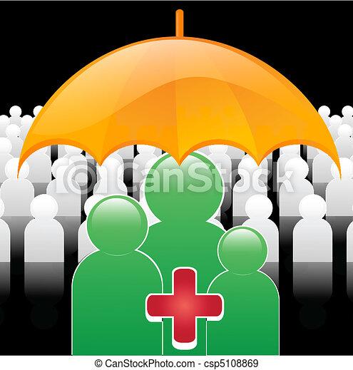 Seguro médico - csp5108869