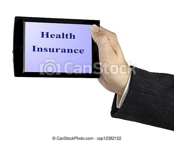 Seguro de salud - csp12382122