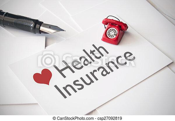 Seguro de salud - csp27092819