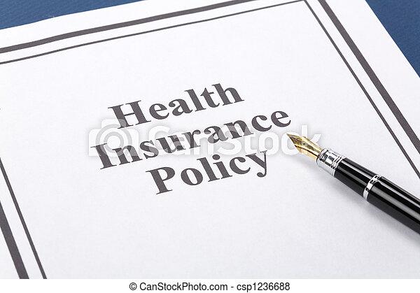 Seguro de salud - csp1236688