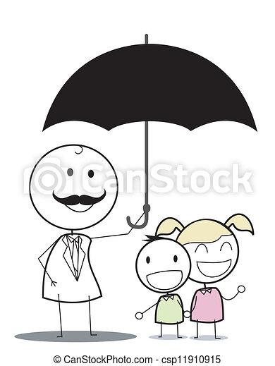 Seguro para niños - csp11910915
