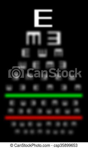 Augenlicht-Konzept - wirklich schlecht Augen - csp35899653