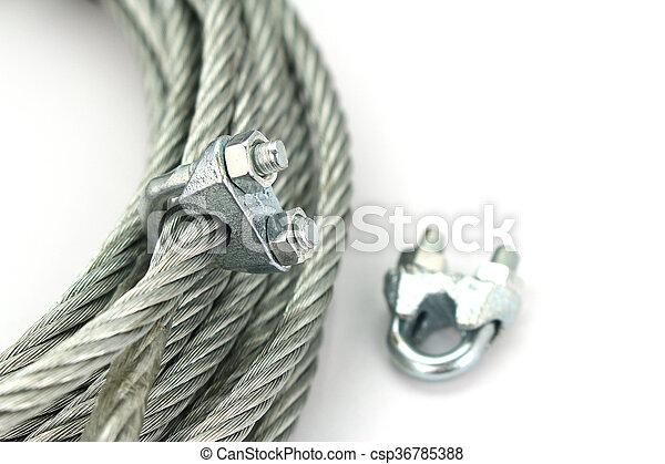 Seil, schloß, weißes, draht, hintergrund Bilder - Fotografien und ...