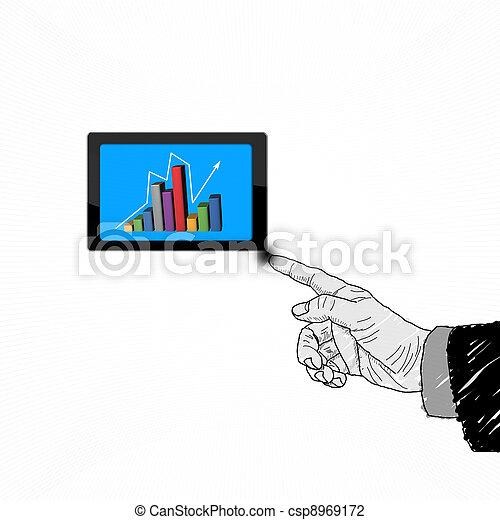 Selección de negocios - csp8969172
