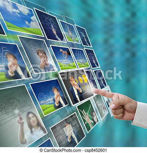 Selección de negocios - csp8452601