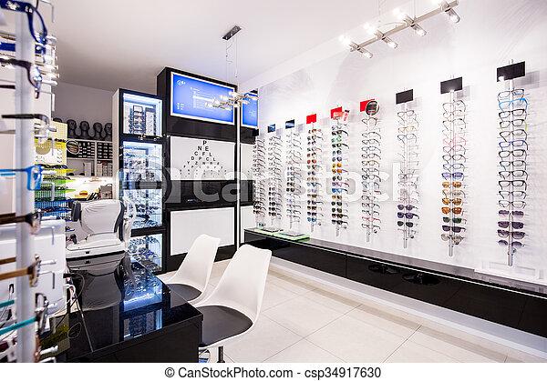 selección, lentes - csp34917630