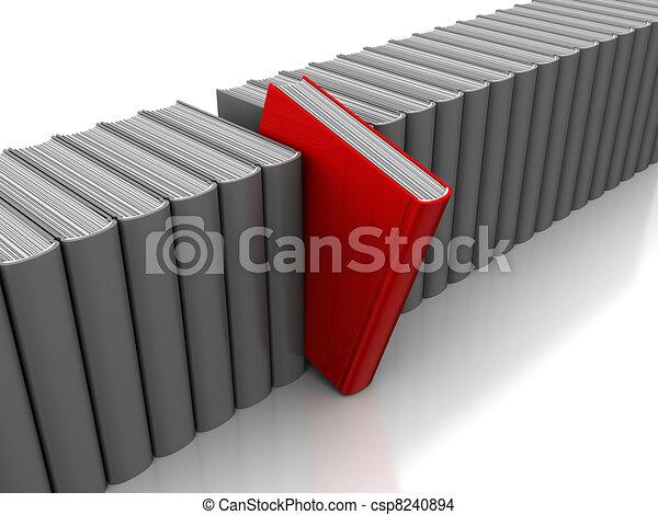Selección de libros - csp8240894