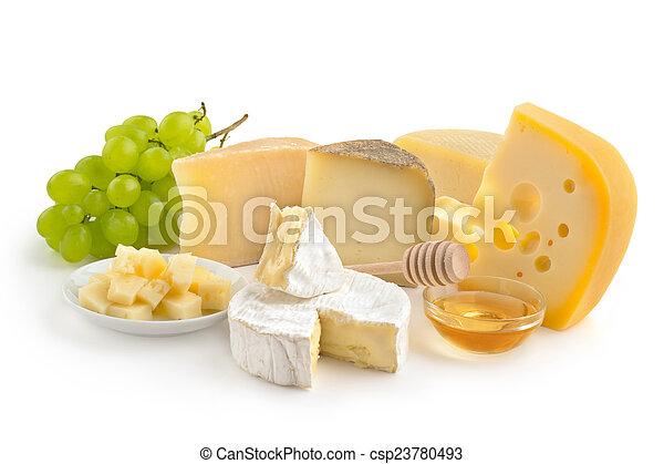 Selección de queso - csp23780493