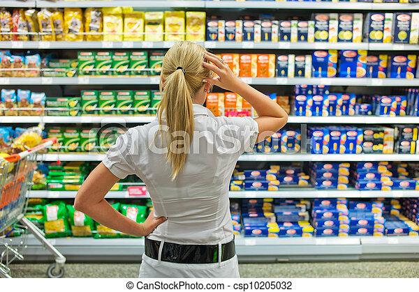 selección, supermercado - csp10205032