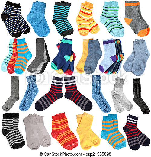 Selection of various socks - csp21555898