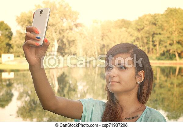 selfie - csp71937208