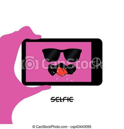 selfie - csp43443095