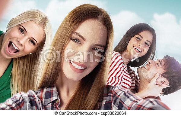 selfie! - csp33820864