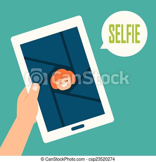 selfie - csp23520274