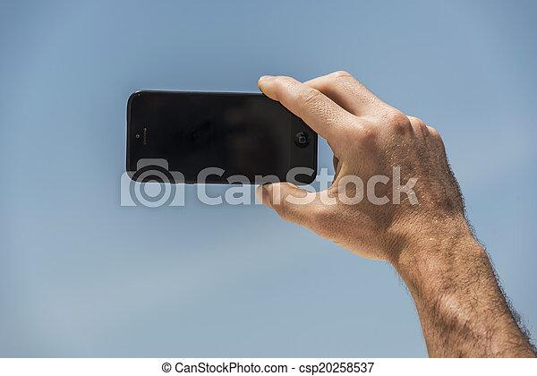 selfie - csp20258537