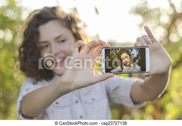 selfie - csp23727138