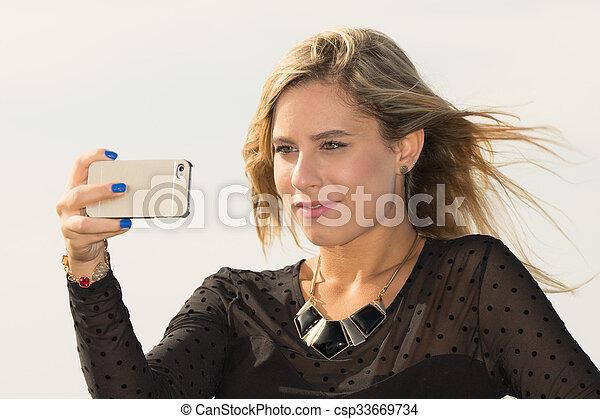 selfie - csp33669734