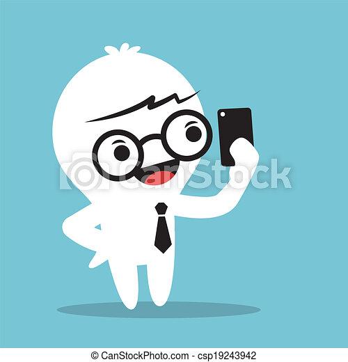 selfie - csp19243942