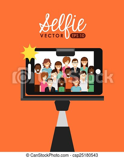 selfie - csp25180543