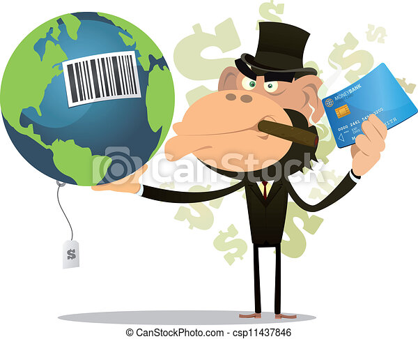 Selling And Buying Earth - csp11437846