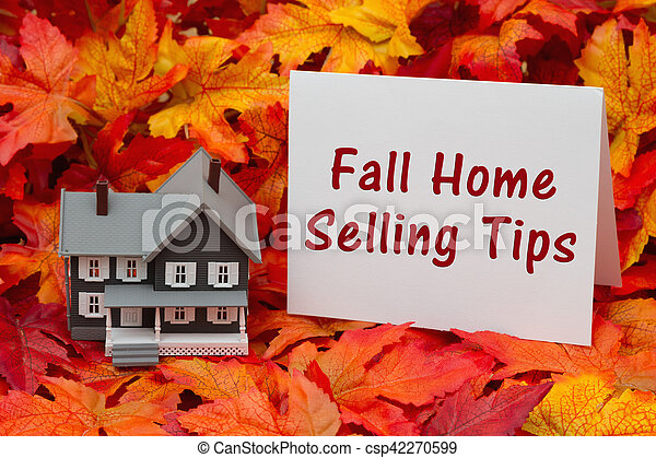 Selling your home in the fall season - csp42270599